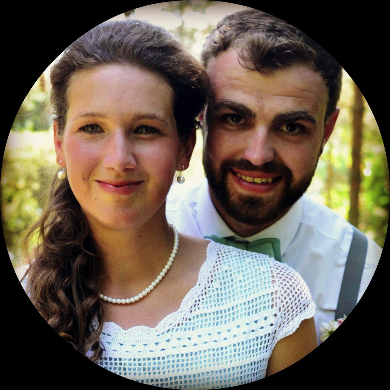 Adam a Anička referencie foto kruh vyrez Maroco efekt